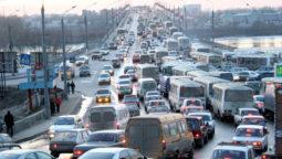 эвакуация из пробки